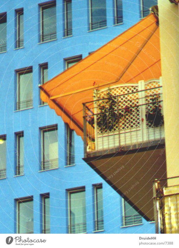 balconies Backyard Architecture balcony Hamburg Colour Living or residing