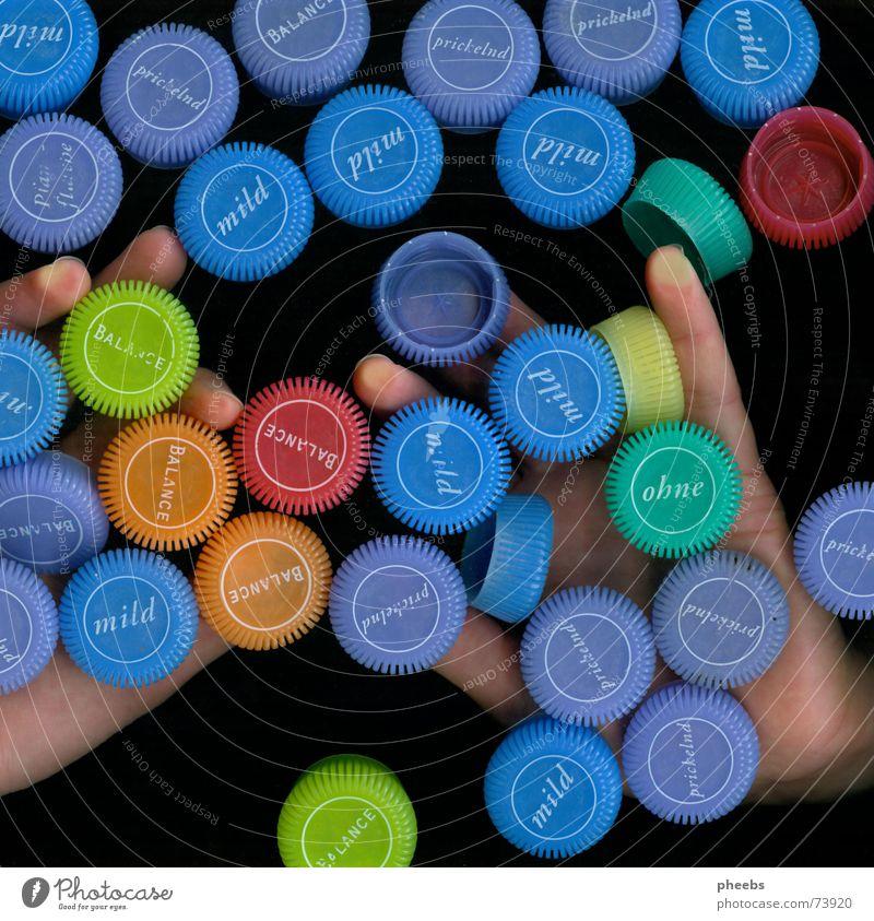 Hand Colour Dark Fingers Advertising Catch Minerals Mineral water Drinking water Scanner