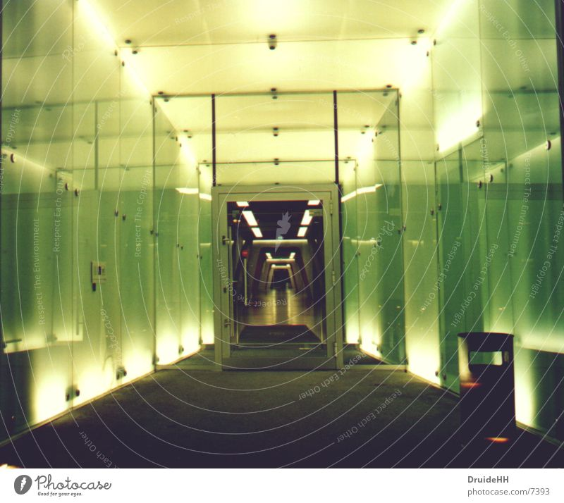 Entrance endless widths Light Yellow Architecture Hamburg UFO Berlin bow