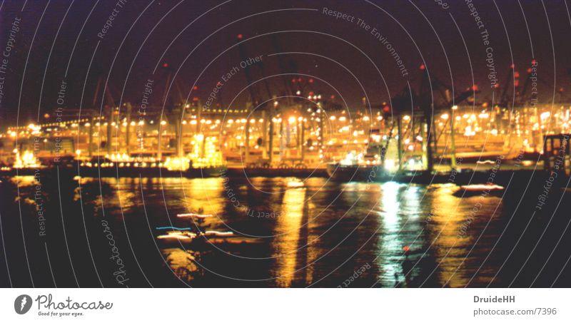 Water Watercraft Coast Hamburg Harbour Navigation Crane Elbe