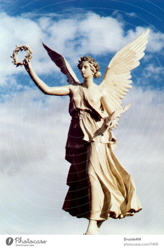 Sky Clouds Park Angel Historic Heavenly Schwerin