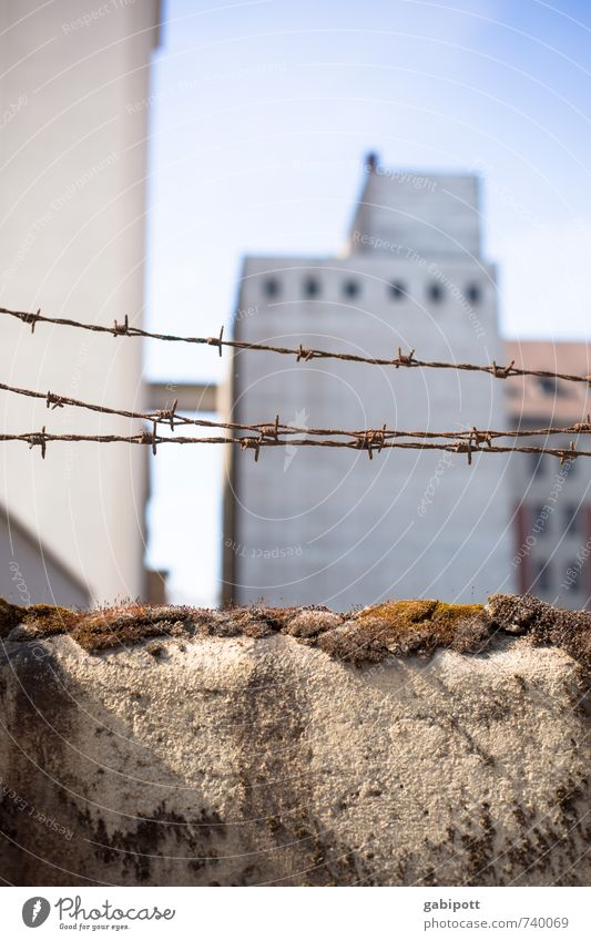 City House (Residential Structure) Wall (building) Wall (barrier) Freedom Facade Fear Threat Might Protection Safety Fence Peace Rust Border Argument