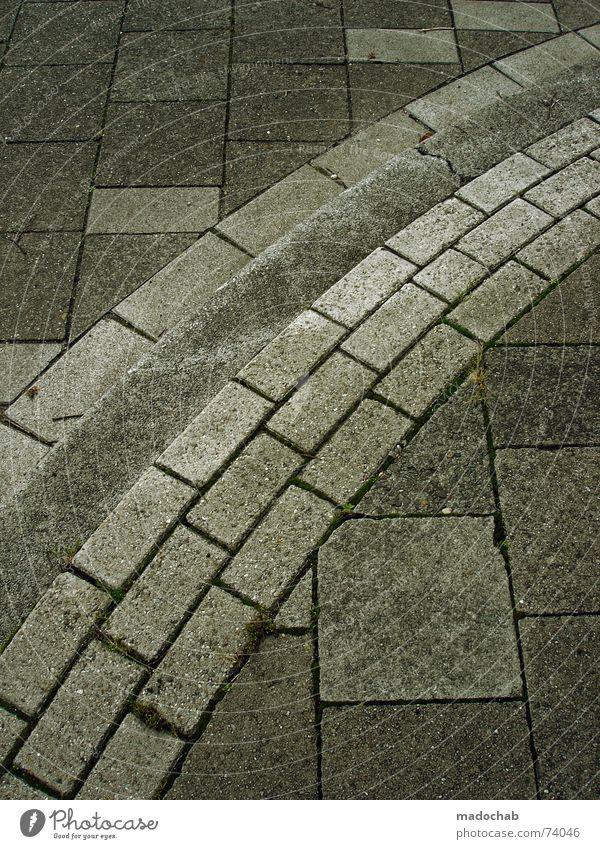 City Street Style Movement Stone Lanes & trails Walking River Floor covering Target Asphalt Wallpaper Square Trashy Dynamics Illustration
