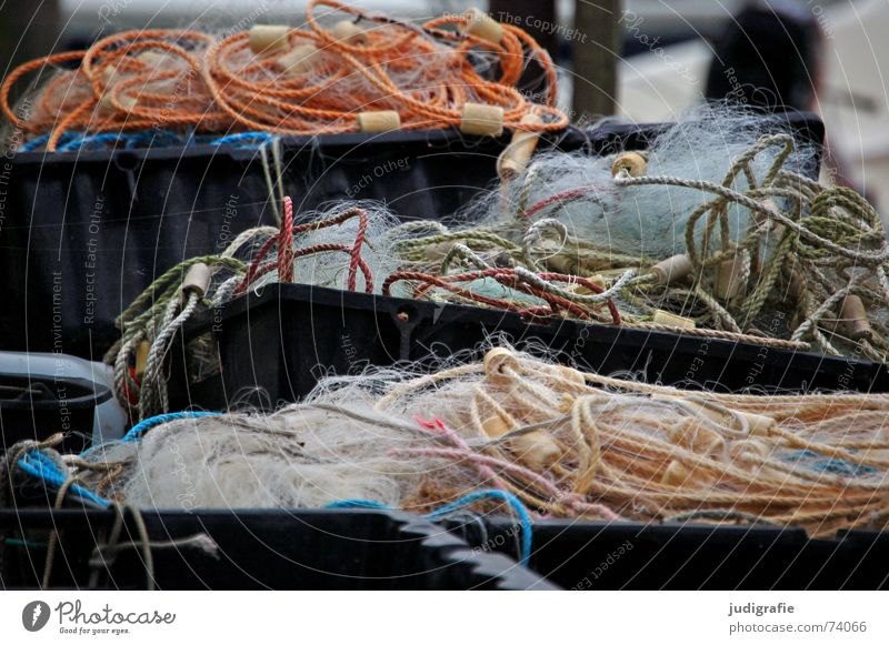 Rope Net Harbour Ladder Crate Fishery Containers and vessels Tub Loop Cork Fishing net