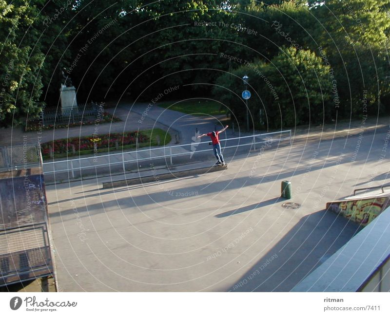 Sports Action Skateboarding