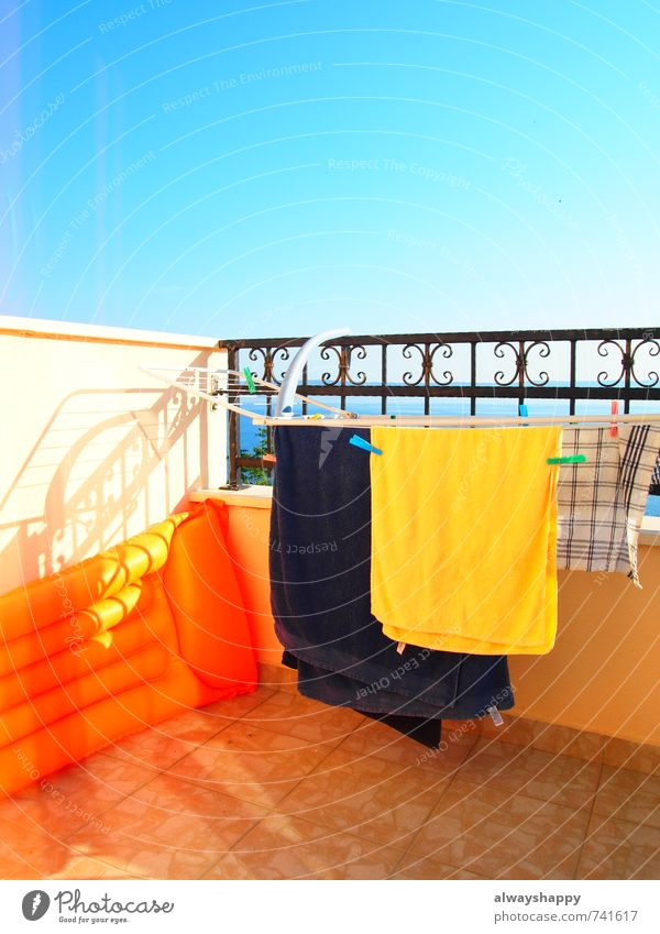 Colourful! Lifestyle Happy Vacation & Travel Tourism Summer Summer vacation Sun Swimming & Bathing Relaxation Hot Crazy Trashy Blue Multicoloured Yellow Red