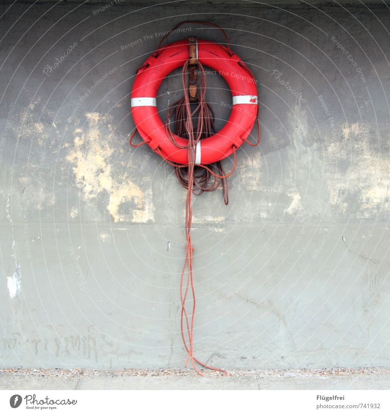 Red Wall (building) Rope Navigation Hang Symmetry Knot Water wings Maritime Life belt Emergency