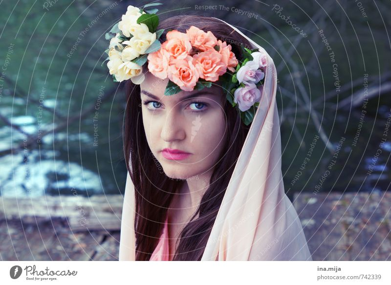 spring fairy Human being Feminine Young woman Youth (Young adults) Woman Adults 1 13 - 18 years Child 18 - 30 years Environment Nature Spring Summer