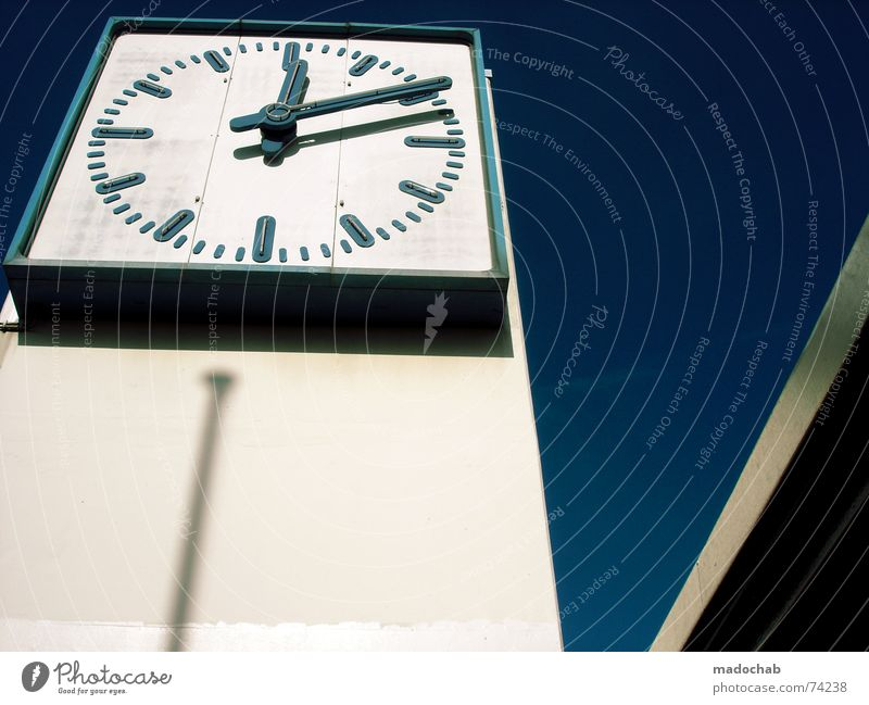 BOOM! | clock clock time architecture urban skyscraper colors time Design Life Freedom Living or residing Flat (apartment) House (Residential Structure) Clock