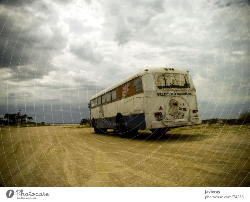 Sand South America Bus Uruguay