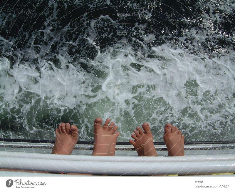 feet Ferry Feet Water