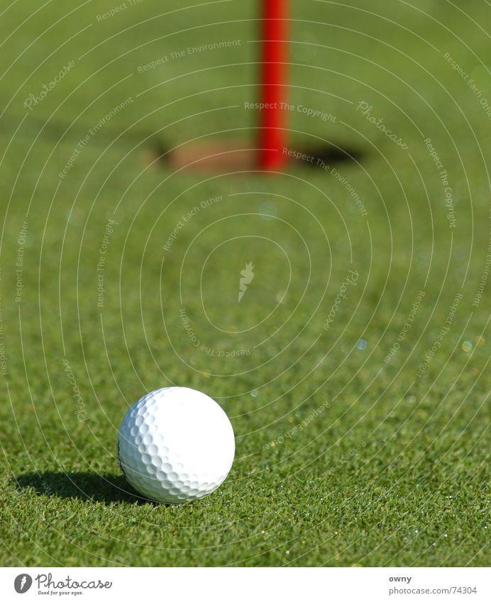 Green Ball Lawn Golf Hollow Arrest Golf ball