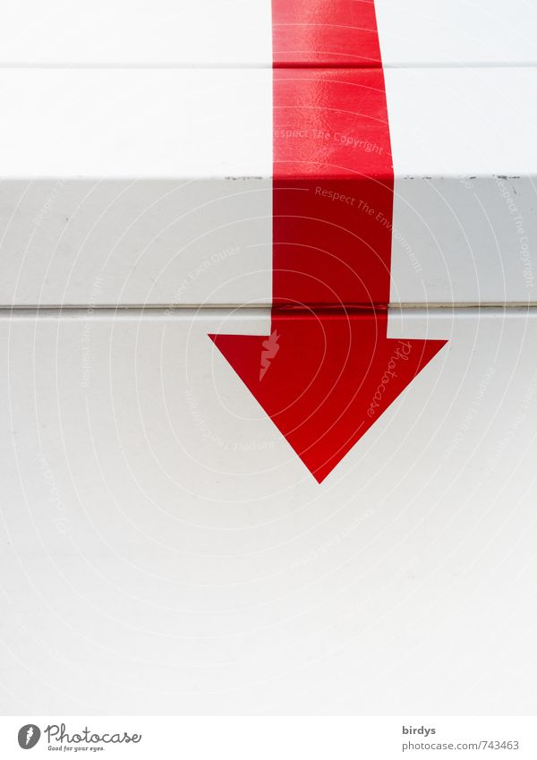 White Red Esthetic Corner Point Simple Clean Uniqueness Sign Target Pure Arrow Indicate Direct Interest Problem solving