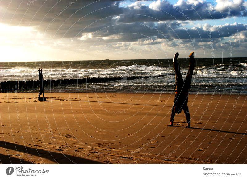 Ocean Beach Vacation & Travel Sports Sand Power Body Healthy Energy industry Wellness Stand Australia Yoga Harmonious Surf Netherlands