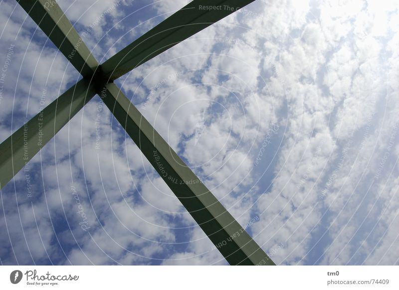 Sky Sun Blue Clouds Art Weather Monument Sculpture Pull Brilliant Aspire Canada Plank Toronto