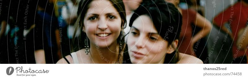 Young woman Friendship 18 - 30 years Smiling Face of a woman Good mood 2 people