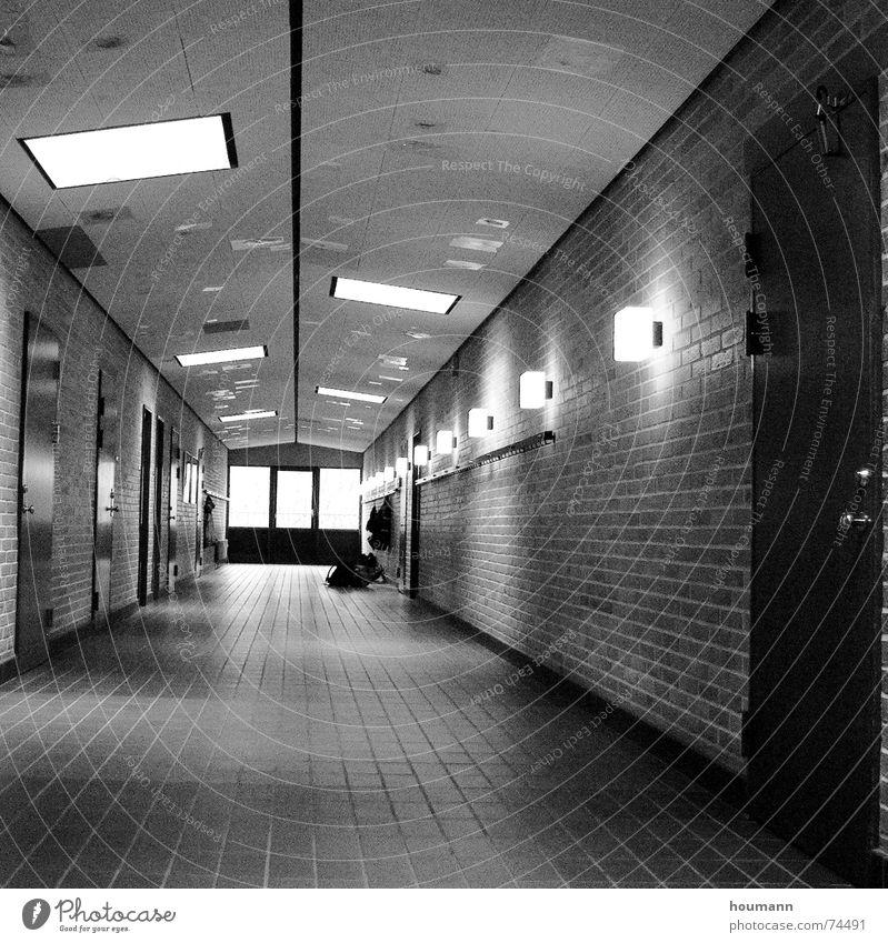 Loneliness Lamp Wall (building) Line Door Floor covering Tile Brick Blanket Dance floor