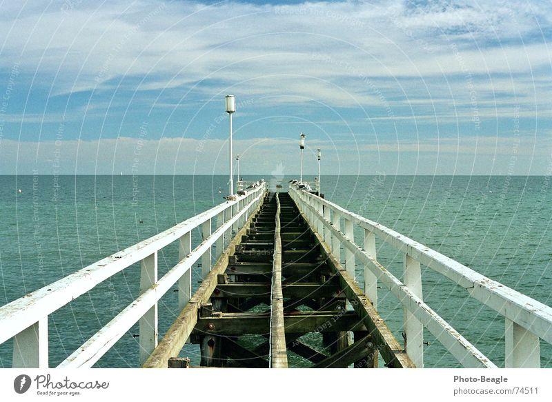 Water Ocean Vacation & Travel Lamp Wood Lake Bridge Lantern Jetty Baltic Sea Handrail Sea water Wood flour Sea bridge