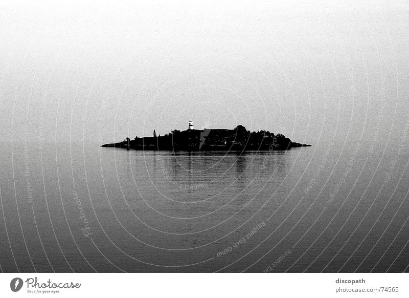Lost Horizon Fog Lake Gray Dark Lighthouse Mirror Loneliness Air Clouds Ocean Iceland Sky Island Sweden Water grey darl sea