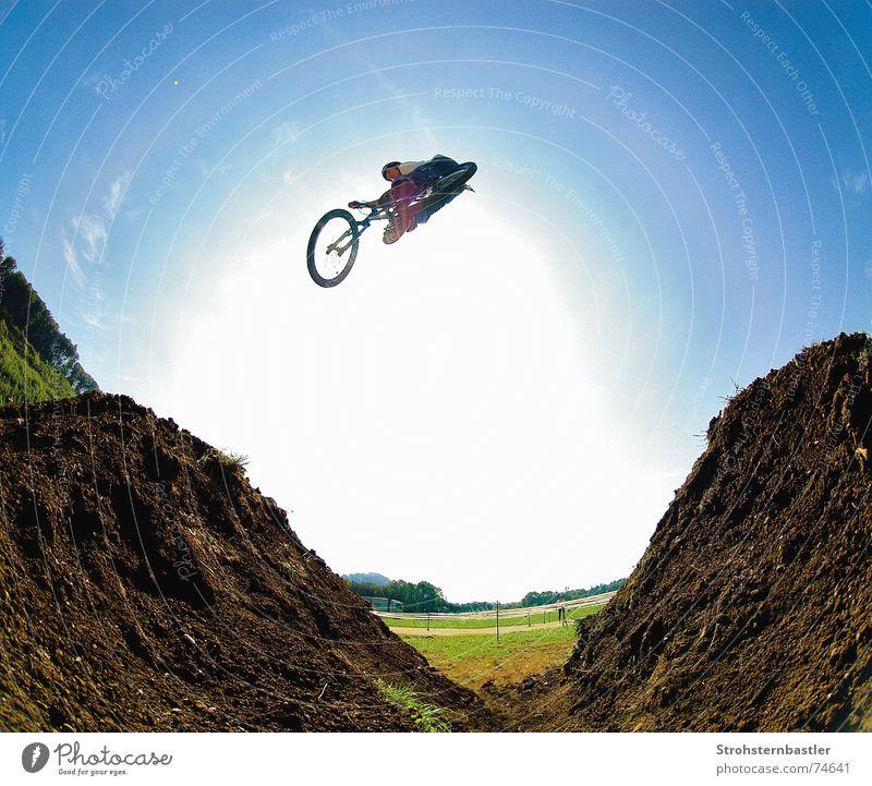 Sky Sun Bicycle Dirty Cool (slang) Fisheye Silicone