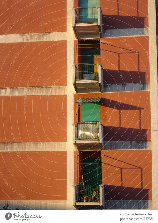 Facade Balcony Anonymous Rome