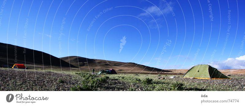 Base Camp 2 Tent Storage area India Camping Sleeping place Tsomoriri Ladakh base camp Sky mentok