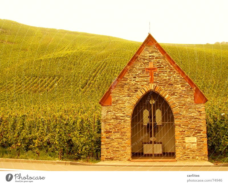 ...the spirit of wine Mosel (wine-growing area) Belief Catholicism Vineyard Beaded tidied