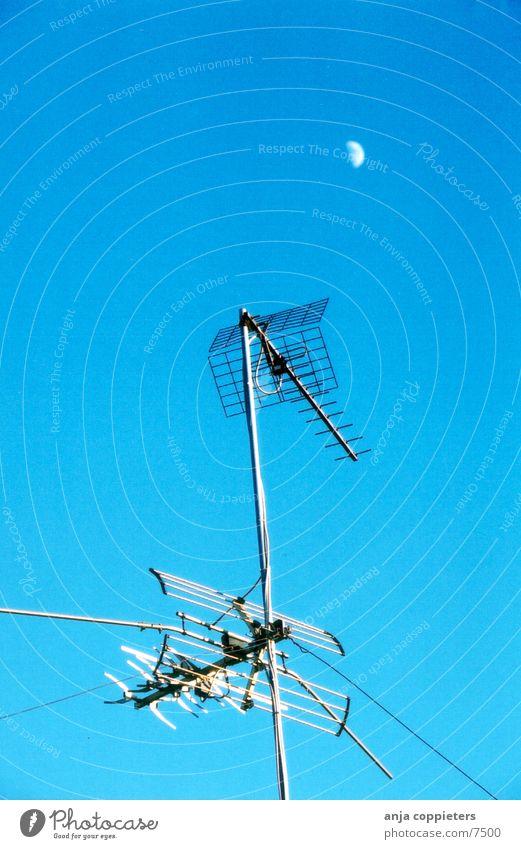 Sky Blue Summer Air Things Moon Antenna