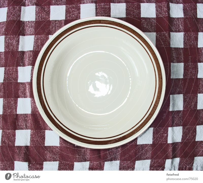 plates Plate Empty Diet Brown Soup plate Appetite Nutrition Tablecloth