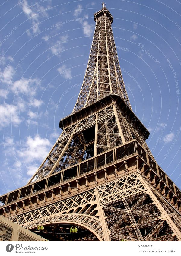 Sky Summer Vacation & Travel Tall Paris Steel France Eiffel Tower