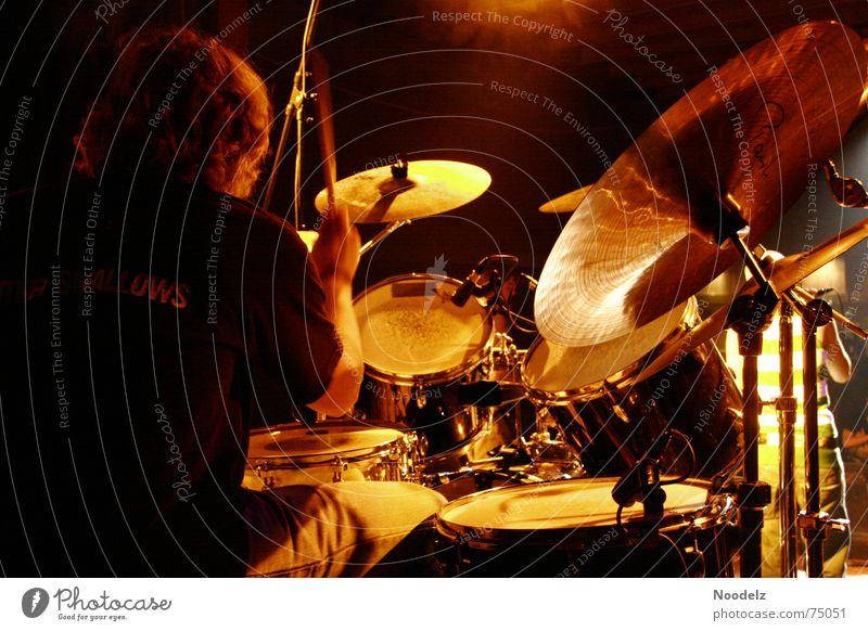 Shows Concert China String Stage Musician Drum set Basin Drummer