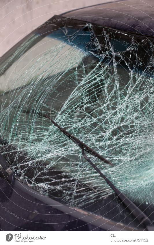 Car Window Fear Car Transport Dangerous Threat Broken Safety Fear of death Vehicle Destruction Motoring Accident Shard Traffic accident Car accident