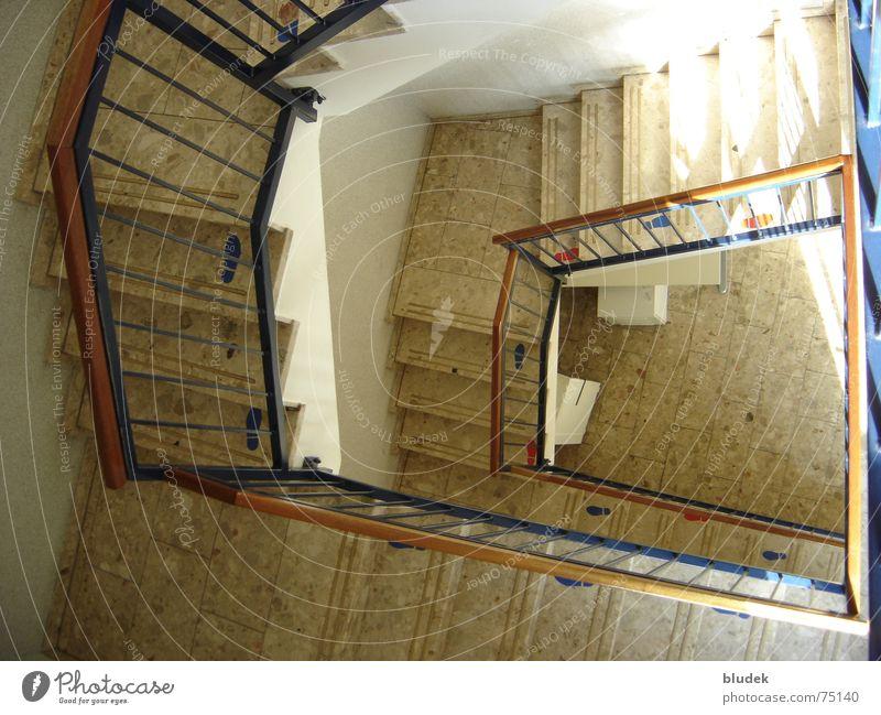 Concrete Handrail Downward Staircase (Hallway) Bremen Employment office