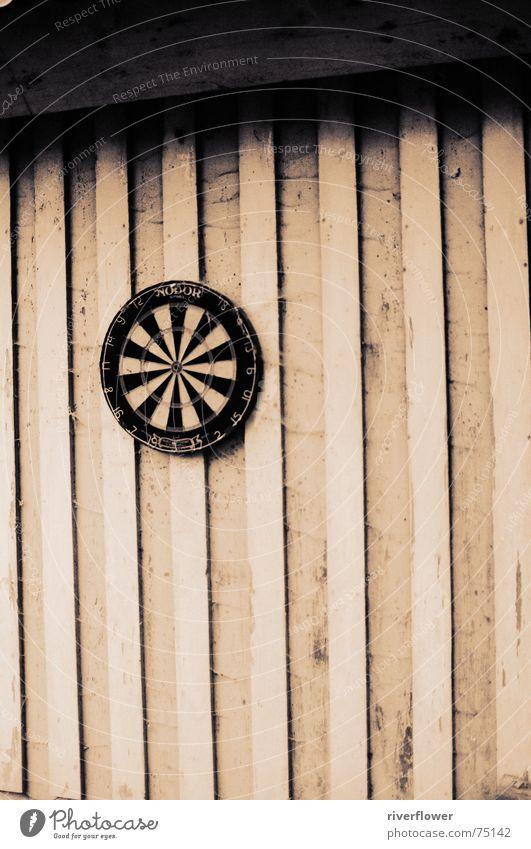 Darts and wood Wood Black Loneliness Hut Sepia Black & white photo Shadow blacken d2x Sadness