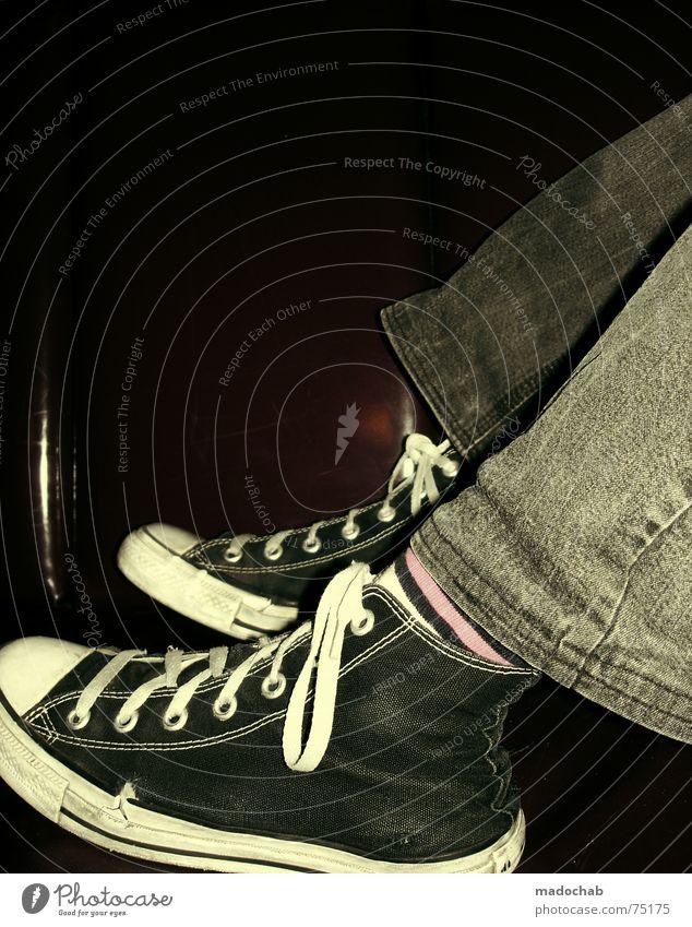 SNEAKER PIMPS | chuks shoes lifestyle trend retro fashion fashion Chucks Footwear Sneakers Striped socks Pink Retro Iconic Bar Twilight Alternative Night
