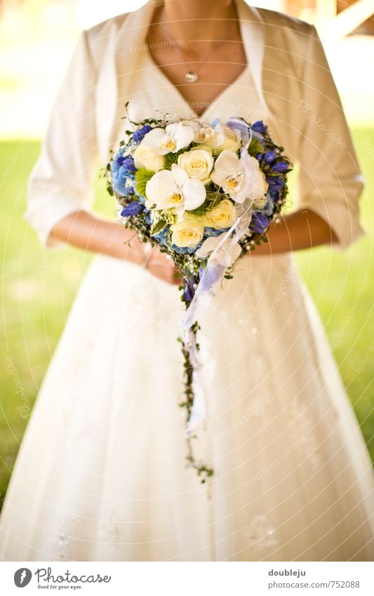 Human being Youth (Young adults) Young woman Joy Feminine Happy Future Wedding Desire