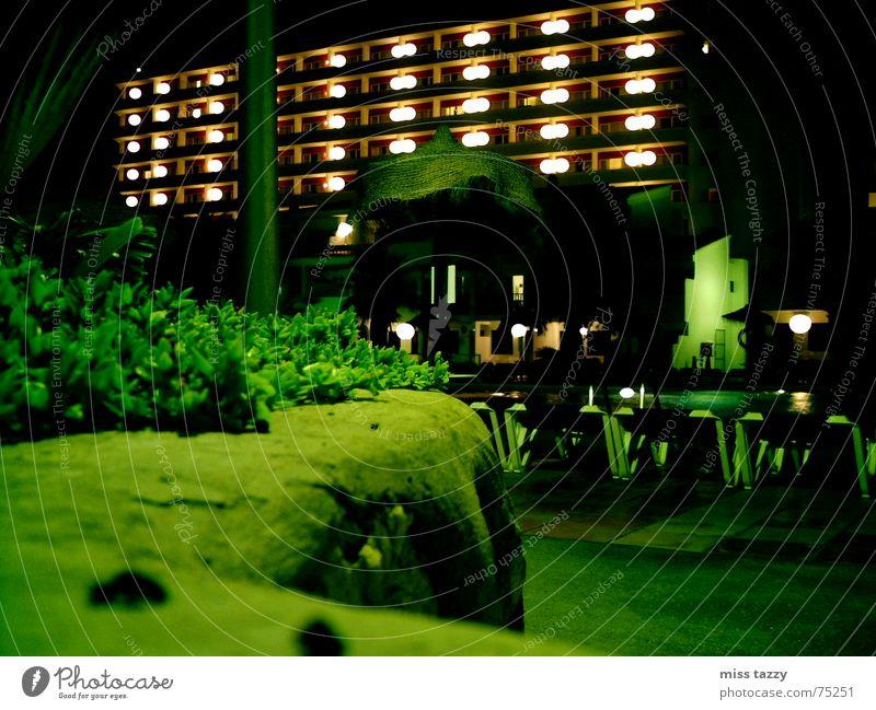 Green Vacation & Travel Wall (barrier) Vantage point Hotel Ibiza