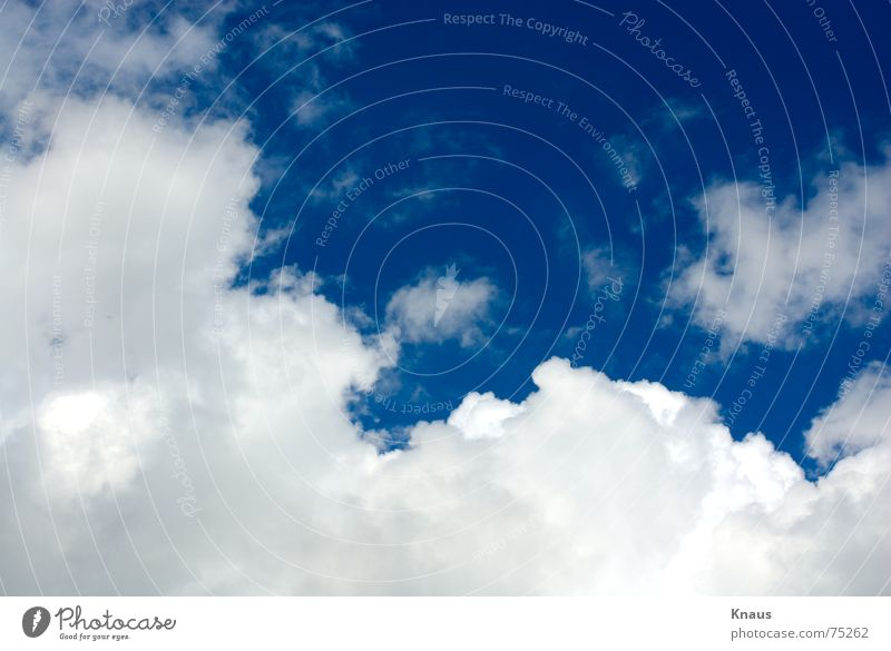 Cloud Nine Clouds Sky Beautiful White Infinity Sky blue Summer cloud Blue Noble Freedom Moody