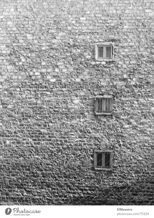 city life Gloomy Narrow Gray Small Captured Hideous Paris Ghetto Dangerous Remote Exterior shot Old Penitentiary unattractive Poverty Black & white photo