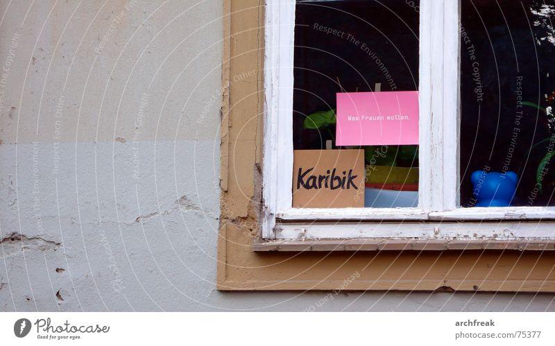 Colour Window Gray Keyword Gloomy Desire Card Window pane Joke Caribbean Irony