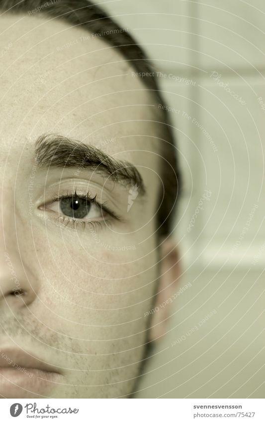 Human being Face Eyes Sadness Skin Nose Grief Gloomy Eyebrow Stubble Beard hair