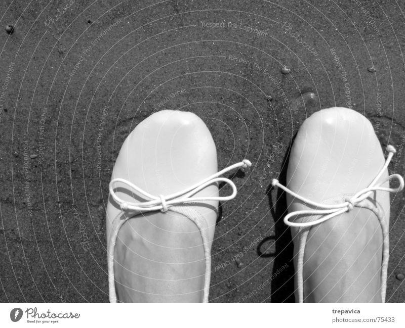 Woman Human being Beach Feminine Feet Sand 2 Stand Connect Loop