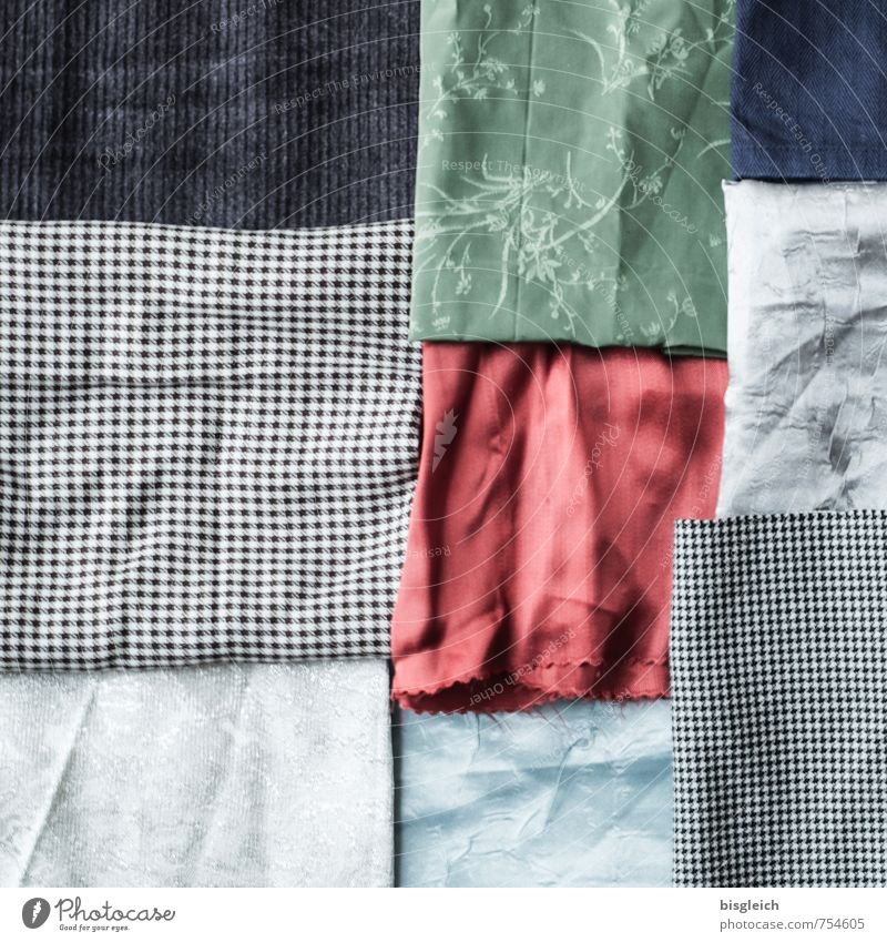 Blue Green Red Black Gray Soft Cloth Square Tailor Tailoring