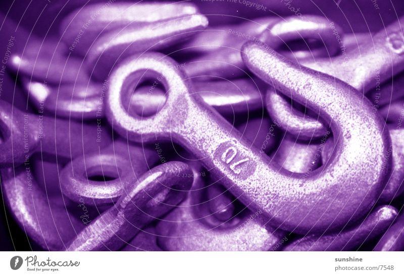 hook Checkmark Violet Industry Metal