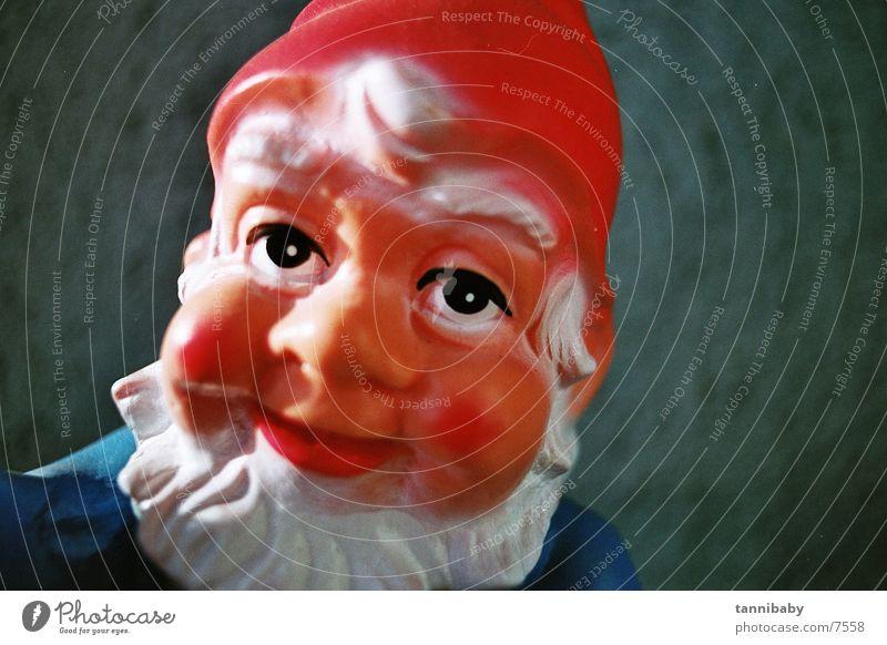 garden gnome herbert Garden gnome Dwarf Red Iconic Santa Claus hat Kitsch