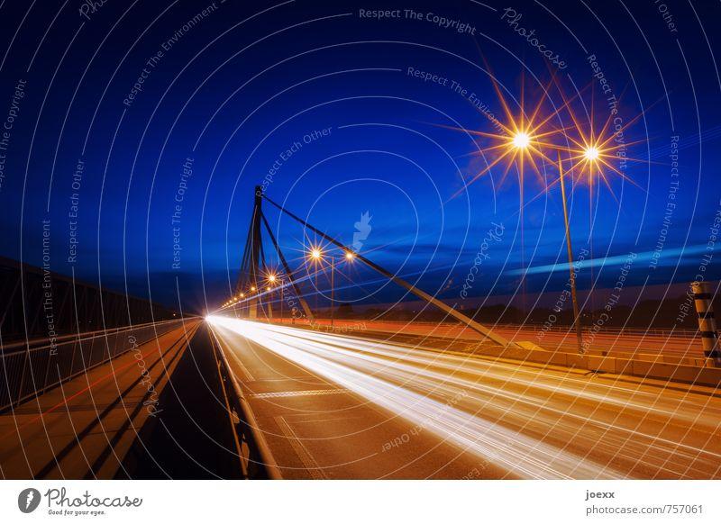Vacation & Travel Blue City Black Street Bright Brown Orange Transport Speed Bridge Street lighting Testing & Control Highway Mobility Competition