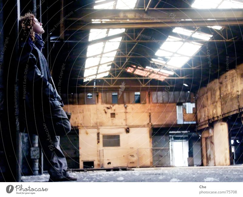 Old Window Think Dirty Broken Romance Factory End Derelict Curl Thought Warehouse Duesseldorf Go under Shard