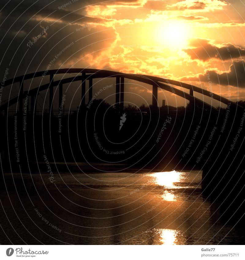 Sky Beautiful Water Sun Freedom Bridge Romance Longing Heavenly God Awareness Deities