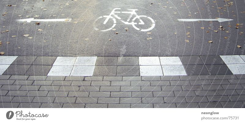 bicycle escape routes Bicycle Dark Autumn Lanes & trails Arrow Floor covering Sign Signage