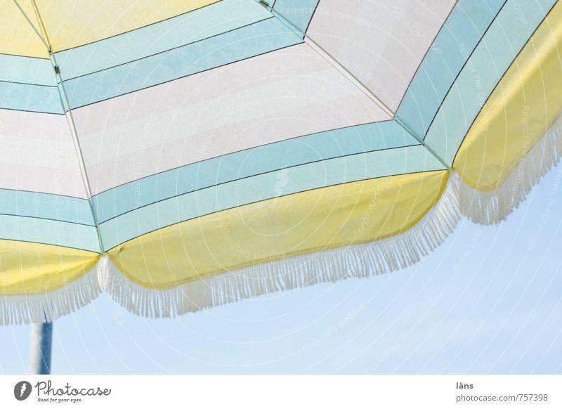 Sky Beach Sunshade Umbrellas & Shades Striped Weather protection Boltenhagen